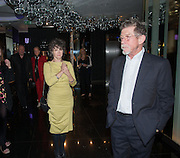 Anwen Rees Meyers; John Hurt, Liberatum Cultural Honour  for John Hurt, CBE in association with artist Svetlana K-Lié.  Spice Market, W London - Leicester Square