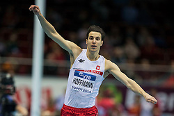 08.03.2014, Ergo Arena, Sopot, POL, IAAF, Leichtathletik Indoor WM, Sopot 2014, im Bild KAROL HOFFMANN TROJSKOK // KAROL HOFFMANN TROJSKOK during day two of IAAF World Indoor Championships Sopot 2014 at the Ergo Arena in Sopot, Poland on 2014/03/08. EXPA Pictures © 2014, PhotoCredit: EXPA/ Newspix/ Radoslaw Jozwiak<br /> <br /> *****ATTENTION - for AUT, SLO, CRO, SRB, BIH, MAZ, TUR, SUI, SWE only*****
