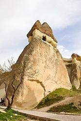Caves In Fairy Chimneys, Open Air Museum, Cappadocia