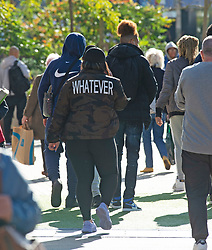 © Licensed to London News Pictures 21/10/2021.<br /> Bromley, UK, People out and about in Bromley High Street in South East London. The coronavirus infection rate continues to rise as the Health Secretary Sajid Javid warning that cases could hit 100,000 a day in the winter months. Photo credit:Grant Falvey/LNP
