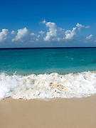 Beach, ocean and surf, Caribbean Sea