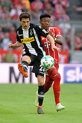 14.04.2018, Allianz Arena, Muenchen, GER, 1. FBL, FC Bayern Muenchen vs Borussia Moenchengladbach, 30. Runde, im Bild Corentin Tolisso (FC Bayern Muenchen) // during the German Bundesliga 30th round match between FC Bayern Munich and Borussia Moenchengladbach at the Allianz Arena in Muenchen, Germany on 2018/04/14. EXPA Pictures © 2018, PhotoCredit: EXPA/ Eibner-Pressefoto/ Stuetzle<br /> <br /> *****ATTENTION - OUT of GER*****