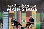 """Janey Napolitano, Author of """"How Safe Are We: Homeland Security Since 09/11, """" interviewed by Scott Kraft at the Los Angeles Times Festival of Books held at the USC Campus in Los Angeles, California on Sunday, April 14, 2019"""
