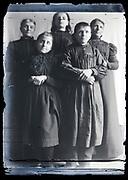 family posing France circa 1920s