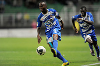 FOOTBALL - FRENCH CHAMPIONSHIP 2011/2012 - ES TROYES v CS SEDAN  - 20/09/2011 - PHOTO JEAN MARIE HERVIO / DPPI - ELOGE ENZA YAMISSI (TRO)