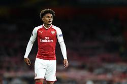 Reiss Nelson of Arsenal looks on - Mandatory by-line: Patrick Khachfe/JMP - 14/09/2017 - FOOTBALL - Emirates Stadium - London, England - Arsenal v Cologne - UEFA Europa League Group stage