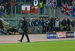 October 31, 2017 - Rome, Italy - Antonio Conte during the Champions League football match A.S. Roma vs Chelsea Football Club at the Olympic Stadium in Rome, on october 31, 2017. (Credit Image: © Silvia Lore/NurPhoto via ZUMA Press)