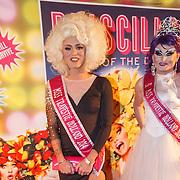 NLD/Amsterdam20151111 - Premiere Priscilla, Queen of the Desert, Miss Travestie Holland 2014, Megan Schoonbrood en Miss Travestie Holland 2015, Tiffanie Dee Light