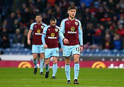 Jeff Hendrick, Steven Defour and Kevin Long of Burnley - Mandatory by-line: Robbie Stephenson/JMP - 09/12/2017 - FOOTBALL - Turf Moor - Burnley, England - Burnley v Watford - Premier League