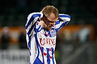 Fotball<br /> Nederland<br /> Foto: Proshots/Digitalsport<br /> NORWAY ONLY<br /> <br /> voetbal, eredivisie, seizoen 2009-2010, den haag, 30-01-2010, ado den haag - heerenveen 2-1, balende christian grindheim