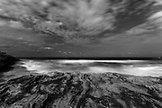 Night Photo Series 2015 by Paul Green. These images are part of a new series of night photographs that with be made over the coming year both in Australia and Europe. These images were taken at MacKenzies Bay at Bondi on 31st January 2015 during a big swell.