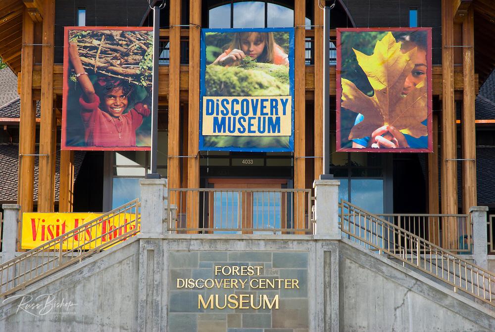 The Forest Discovery Center Museum, Washington Park, Portland, Oregon