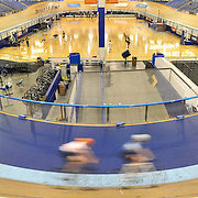 Cyclists participate in an open cycling session. November 3rd, 2016 — Velo Sports Center — StubHub Center, Carson, CA<br /> <br /> Photo by Austin Song / Sports Shooter Academy