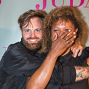 NLD/Amsterdam/20180920 - Premiere Judas, Tim Hofman en Talisia Misiedjan
