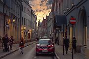 2020-02-08 Kraków. Ulica Jagiellońska – zabytkowa ulica na Starym Mieście w Krakowie, która przebiegała przez dawną dzielnicę uniwersytecką.