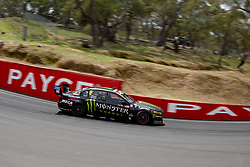 October 7, 2018 - Bathurst, NSW, U.S. - BATHURST, NSW - OCTOBER 07: Cameron Waters / David Russell in the Monster Energy Racing Ford Falcon through Forest Elbow at the Supercheap Auto Bathurst 1000 V8 Supercar Race at Mount Panorama Circuit in Bathurst, Australia on October 07, 2018 (Photo by Speed Media/Icon Sportswire) (Credit Image: © Speed Media/Icon SMI via ZUMA Press)
