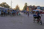 Train station traffic in Bayamo, Granma, Cuba.
