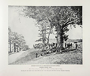 """HUDSON RIVER VIEW, Fifty Yards directly in Front, due West of General Grant's Tomb from The American Civil War book and Grant album : """"art immortelles"""" : a portfolio of half-tone reproductions from rare and costly photographs designed to perpetuate the memory of General Ulysses S. Grant, depicting scenes and incidents in connection with the Civil War Published  in Boston and New York by W. H. Allen in 1894"""