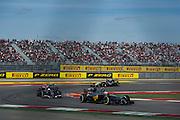 October 30-November 2 : United States Grand Prix 2014, Kevin Magnussen, (DEN) McLaren-Mercedes leads Esteban Gutierrez (MEX), Sauber-Ferrari