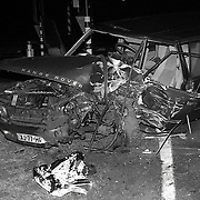 NLD/Bilthoven/19920117 - Ongeval Gezichtslaan - Nwe Weteringseweg Bilthoven