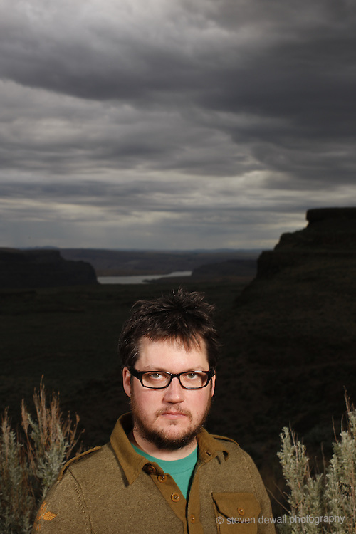 Isaac Brock of Modest Mouse at  Sasquatch Music Festival, 2008