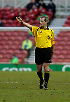 Photo: Leigh Quinnell.<br /> Middlesbrough v Manchester City. The Barclays Premiership. 31/12/2005. Referee M.Atkinson