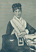 Nadezhda (Nadia) von Meck (1831-1894), Russian business woman and patron of Tchaikovsky