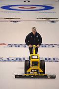 "Glasgow. SCOTLAND.  ""Round Robin"" Game. Le Gruyère European Curling Championships. 2016 Venue, Braehead  Scotland<br /> Monday  21/11/2016<br /> <br /> [Mandatory Credit; Peter Spurrier/Intersport-images]"