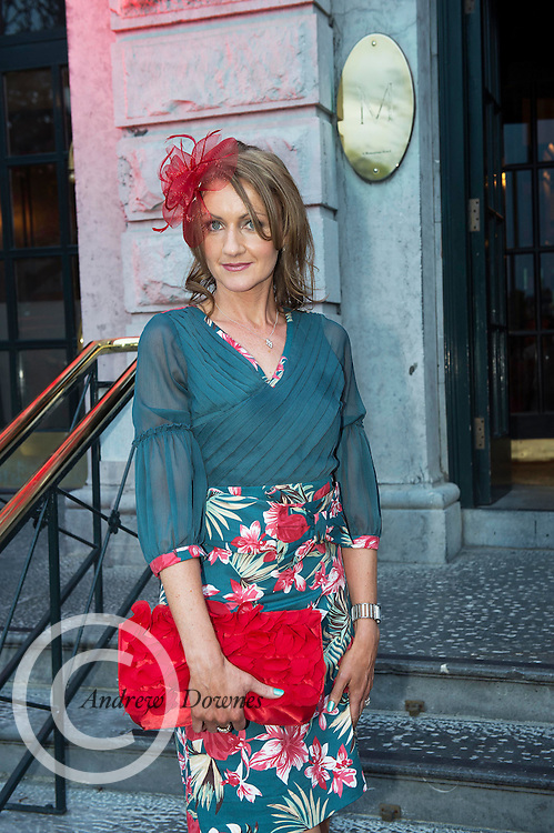 31/07/2014 There was an excellent turnout of fashionable ladies at Hotel Meyrick for their Most Stylish Lady Competition, judged by two of Ireland's leading fashion commentators Sonya Lennon  and Brendan Courtney .  At the event was  Michelle Murthagh, Corofin<br /> Picture:Andrew Downes