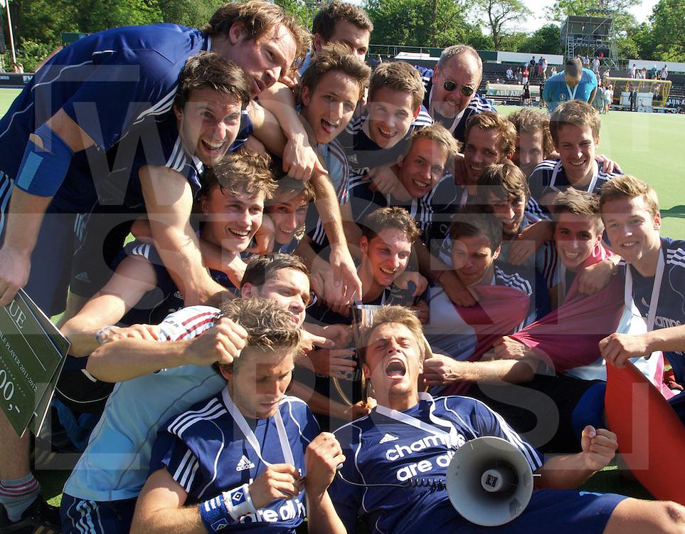 Amstelveen - Euro Hockey League .UHC Hamburg - Amsterdam H & BC .foto: UHC wins for the 3rd time the EHL. .FFU PRESS AGENCY COPYRIGHT FRANK UIJLENBROEK.