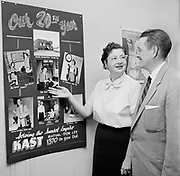 Governor-elect Bob Holmes. KAST radio station Astoria. November 9, 1956