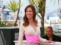 Hilary Swank at the photo call for the film The Homesman at the 67th Cannes Film Festival, Sunday 18th May 2014, Cannes, France.