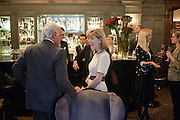 JOHN STEFANIDES; ANNA CARTER, Graydon and Anna Carter host a lunch for Carolina Herrera to celebrate the ipening of her new shop on Mount St. .The Connaught. London. 20 January 2010