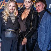 NLD/Amsterdam/20180425 - Première The Avengers: Infinity War, Isadee Jansen en .Joann van den Herik en ........