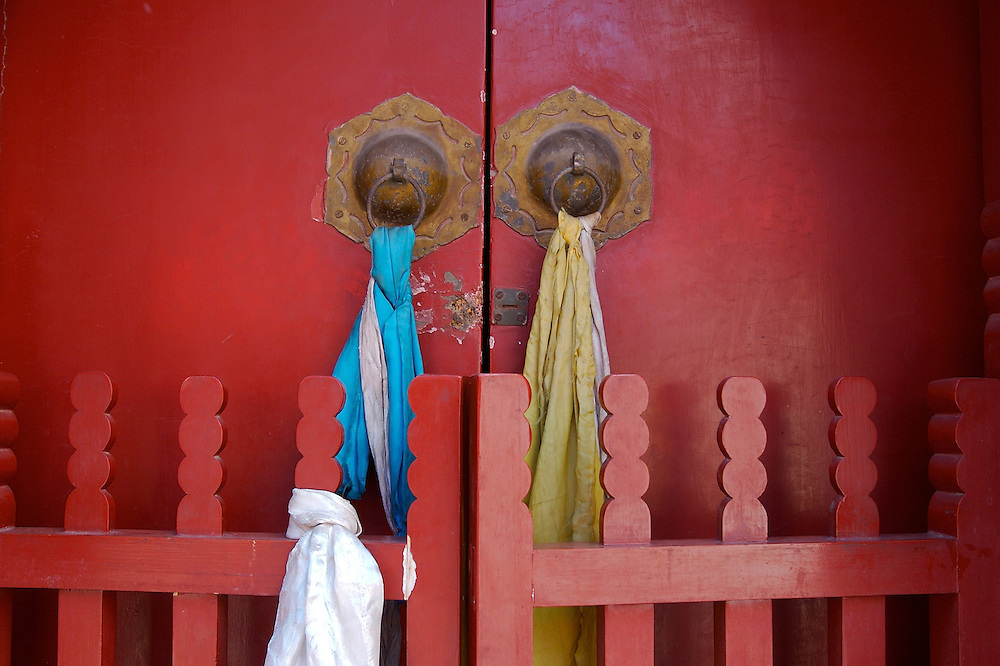 Miaoying Temple in western Beijing,China.