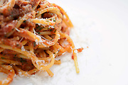 Photograph of a Plate of Spaghetti