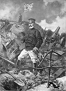General Nogi, Japanese commander who took Port Arthur from the Russians. Russo-Japanese War 1904-1905.