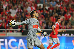 September 8, 2017 - Lisbon, Lisbon, Portugal - Portimonenses goalkeeper Ricardo Ferreira from Portugal  during the Premier League 2017/18 match between SL Benfica v Portimonense SC, at Luz Stadium in Lisbon on September 8, 2017. (Credit Image: © Dpi/NurPhoto via ZUMA Press)