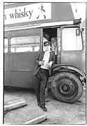 Lord Xan Rufua Isaacs. Dangerous Sports club. Double Decker Bus© Copyright Photograph by Dafydd Jones 66 Stockwell Park Rd. London SW9 0DA Tel 020 7733 0108 www.dafjones.com