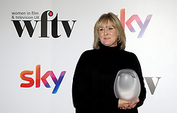 Sarah Lancashire received the MåáAåáC best performance award at the Women in Film & TV Awards at the Hilton hotel in central London.