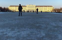 THEMENBILD - Winter im Schlosspark Schönbrunn. Das Bild wurde am 9. Dezember 2012 aufgenommen. im Bild Schloss Schönbrunn // THEME IMAGE FEATURE - Winter at Palace Garden Schoenbrunn. The image was taken on december, 9th, 2012. Picture shows Schoenbrunn, AUT, EXPA Pictures © 2012, PhotoCredit: EXPA/ M. Gruber