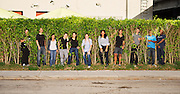 Group of aspiring photo assistants in Miami
