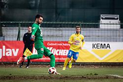 Goalkeeper of NK Celje Rozman during football match between NŠ Mura and NK Celje in 18th Round of Prva liga Telekom Slovenije 2018/19, on December 2, 2018 in Fazanerija, Murska Sobota, Slovenia. Photo by Blaž Weindorfer / Sportida