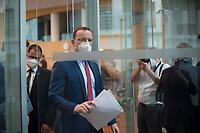 DEU, Deutschland, Germany, Berlin, 12.05.2021: Bundesgesundheitsminister Jens Spahn (CDU) in der Bundespressekonferenz zur aktuellen Corona-Lage.