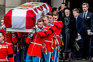 The funeral of Prince Henrik