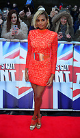 Alesha Dixon Red Carpet arrivals for Britain's Got Talent at the Liverpool Empire Lime St, Liverpool photo by brian jordan