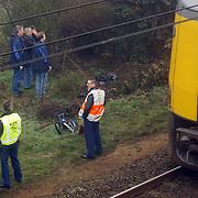 Lijk gevonden langs spoorbaan Crailosebrug, waarschijnlijk ongeval fietser