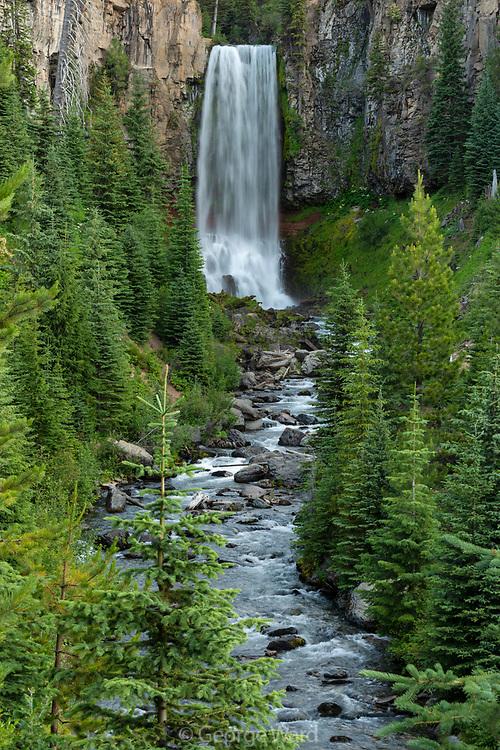 Tumalo Falls and Tumalo Creek,<br /> Deschutes National Forest, <br /> Deschutes County, Oregon