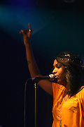 Jazz of Black Buddafly at the Bilal performance at Highline Ballroom produced by Jill Newman Productions on August 15, 2008 in New York City.