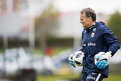June 1, 2018 - Reykjavik, ICELAND - 180601 Frode GrodÃ¥s, goalkeeper coach of Norway, during a training session on June 01, 2018 in Reykjavik..Photo: Fredrik Varfjell / BILDBYRÃ…N / kod FV / 150104 (Credit Image: © Fredrik Varfjell/Bildbyran via ZUMA Press)
